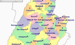 Municipios del Departamento del Tolima   Información y Población